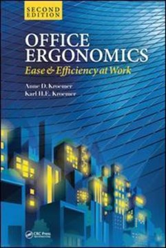 Office ergonomics by Anne D. Kroemer