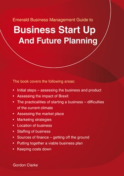Business start up and future planning by Gordon Clarke