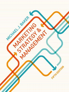 Marketing strategy and management by M. Baker
