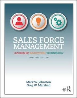 Sales force management by Mark W Johnston