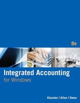 Integrated accounting for Windows by Dale H Klooster