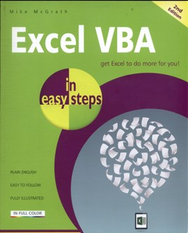 Excel VBA in easy steps by Mike McGrath