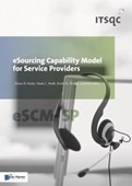 Esourcing Capability Model For Service Providers