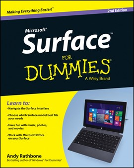 Microsoft Surface for dummies by Andy Rathbone