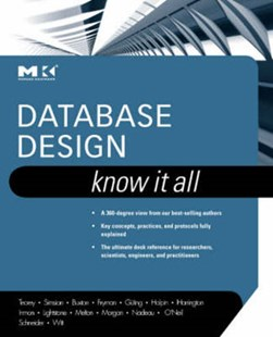 Database design by Toby J. Teorey
