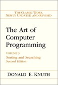 The art of computer programming. Vol. 3 Sorting and searching