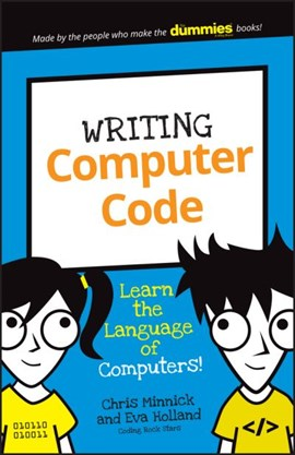 Writing computer code by Chris Minnick