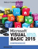 Microsoft Visual Basic 2015 for Windows, Web, Windows Store, and Database Applications: Comprehensive