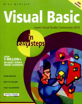 Visual basic in easy steps by Mike McGrath