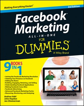 Facebook marketing all-in-one for dummies by Andrea Vahl