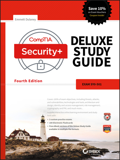 Comptia security deluxe study guide emmett dulaney comptia security deluxe study guide fandeluxe Images