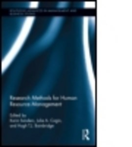 Research methods for human resource management by Karin Sanders