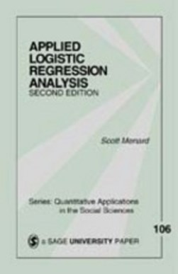 Applied logistic regression analysis by Scott Menard