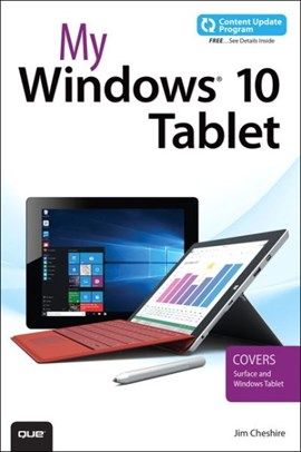My Windows 10 tablet by Jim Cheshire