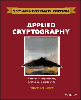 Applied cryptography, second edition by Bruce Schneier