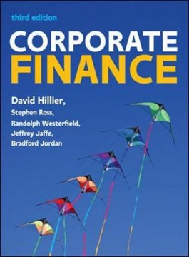 Corporate finance by David Hillier