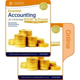 Essential accounting for Cambridge IGCSE & O Level by David Austen