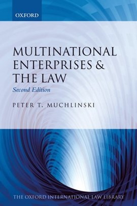 Multinational enterprises and the law by Peter T. Muchlinski