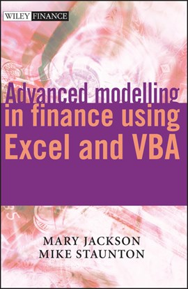 Advanced modelling in finance using Excel and VBA by Mary Jackson