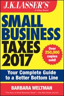 J.K. Lasser's small business taxes 2017