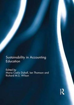 Sustainability in accounting education by Maria Cadiz Dyball