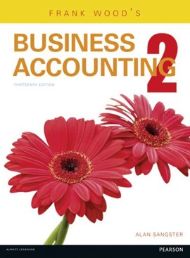 Frank Wood's business accounting. 2 by Alan Sangster