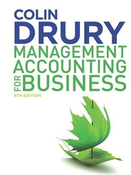 Management accounting for business by Colin Drury