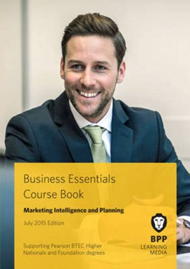 Marketing intelligence and planning by BPP Learning Media