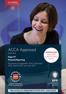ACCA F7 Financial Reporting by BPP Learning Media