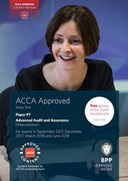 ACCA paper P7, advanced audit and assurance (international). Study text