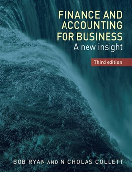 Finance and accounting for business by Bob Ryan