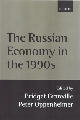 The Russian economy in the 1990s by Brigitte Granville