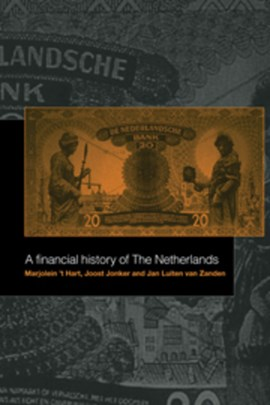 A financial history of the Netherlands by Marjolein 't Hart