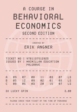 A course in behavioral economics by Erik Angner
