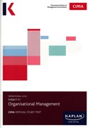 Subject E1, organisational management. Study text