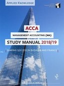 Management accounting study manual