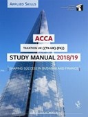 ACCA Taxation Study Manual 2018-19