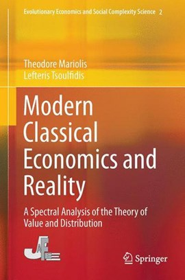 Modern classical economics and reality by Theodore Mariolis