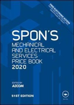 Spon's mechanical and electrical services price book 2020 by AECOM