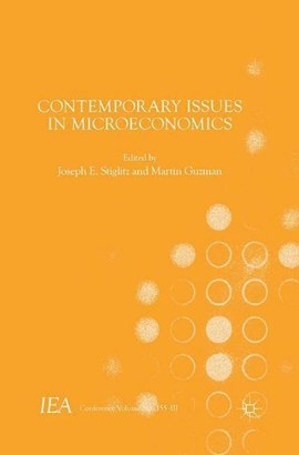 Contemporary issues in microeconomics by Joseph E. Stiglitz