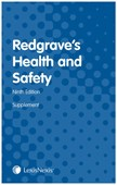 Redgrave's health and safety, ninth edition. First supplement 2019