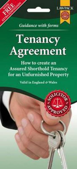 Unfurnished Tenancy Agreement Form Pack by
