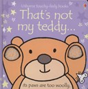 That's not my teddy-