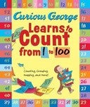 Curious George learns to count from 1 to 100