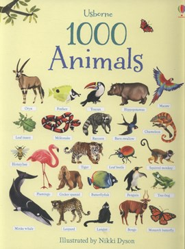 1000 Animal Stickers by
