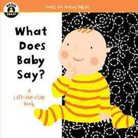 What does baby say? by Sterling Publishing Co, Inc.