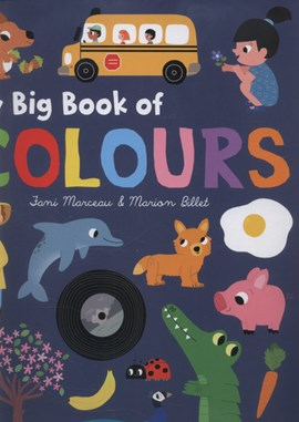My big book of colours by Marion Billet