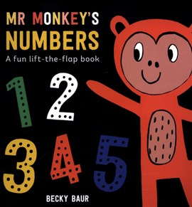 Mr Monkey's numbers by Becky Baur