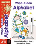 Gold Stars Wipe-Clean Alphabet Ages 3-5 Early Years