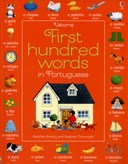 Usborne first hundred words in Portuguese
